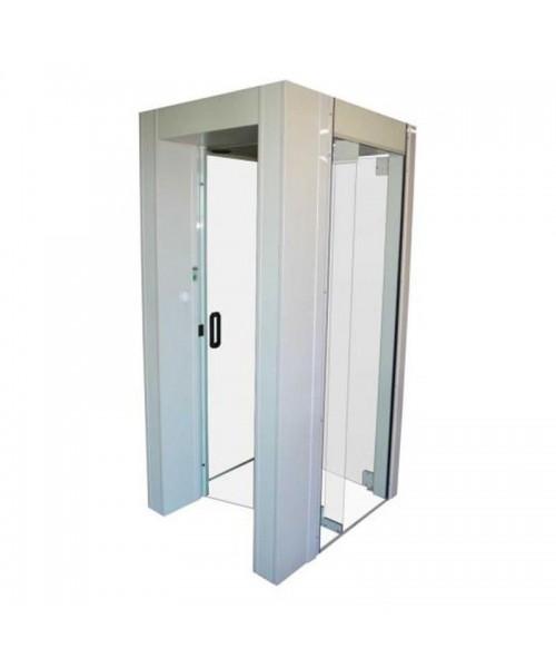 Cabine de segurança com detector de metais Portas Potter