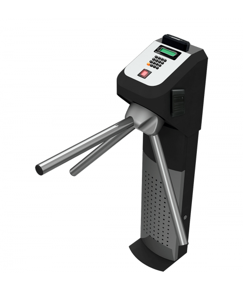 Catraca de Acesso Biométrica Proximidade Barras Lumen Henry
