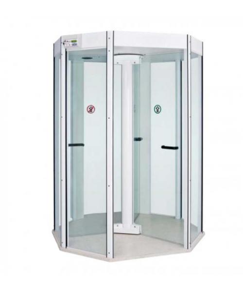 Porta giratória com detector de metais Octal Portas Potter