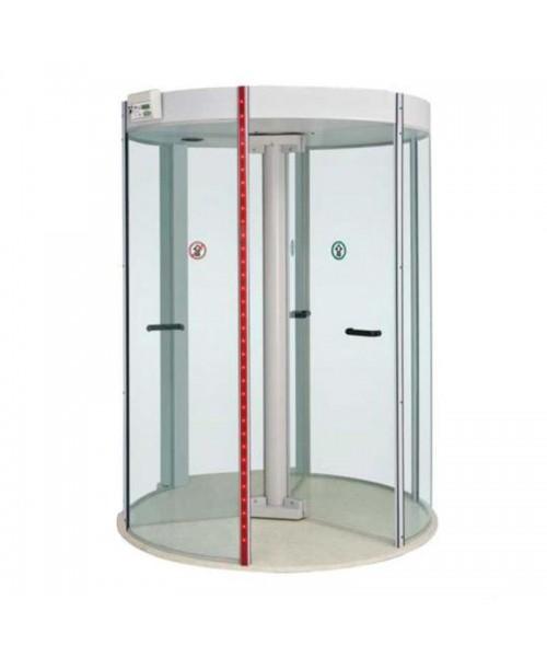 Porta giratória com detector de metais Redor Portas Potter