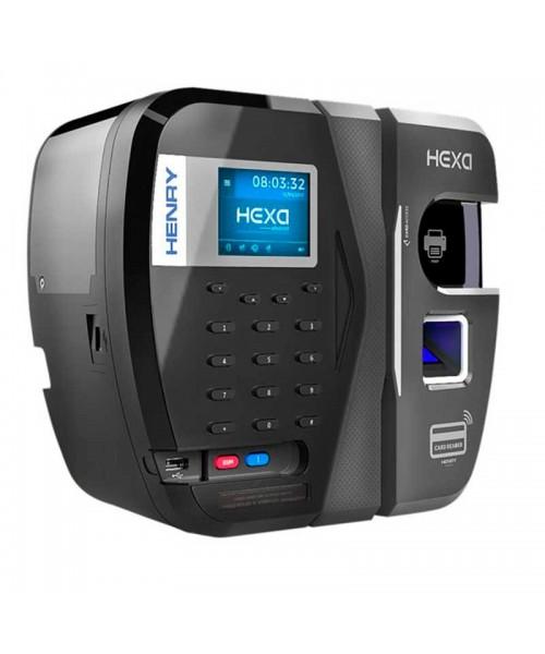 Relógio Ponto Henry Hexa B Bio Azul Prox