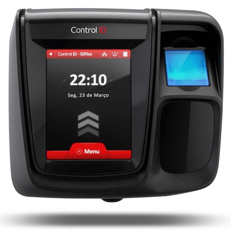 Controle de Acesso Control iD iDFlex Lite Biometria e Proximidade