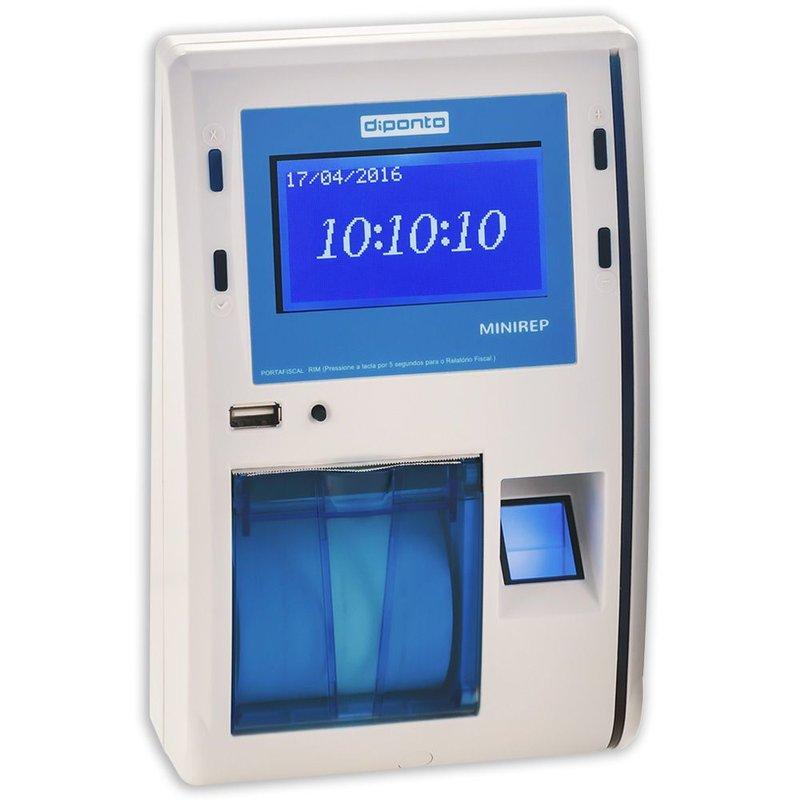 04ce492839e Relógio Ponto Biométrico e Proxi Diponto MiniREP - Loja do Ponto